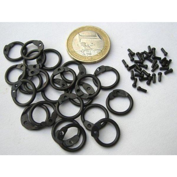 Ulfberth 1 kg żywej Kolcze dzwonków Okrągłe nity