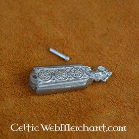 siglo 14 lengüeta del cinturón York