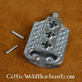 1400-talet låstungan med quatrefoil motiv