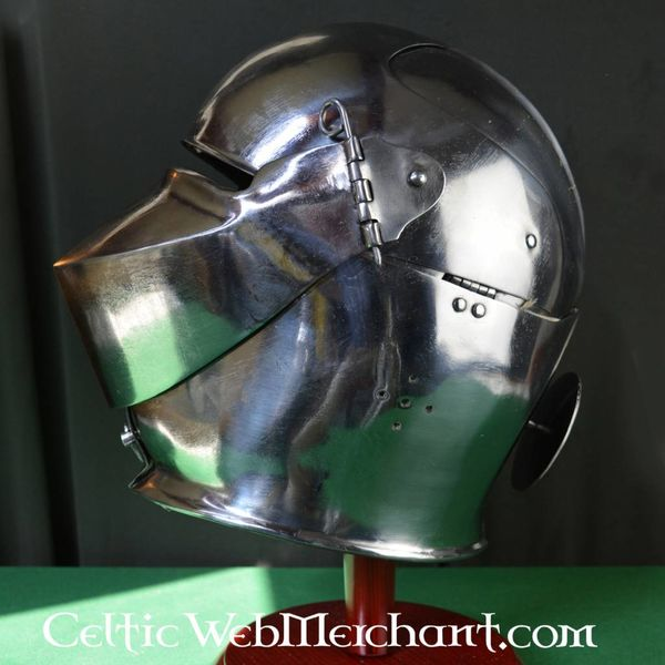 Marshal Historical Elmo chiuso Avant armor