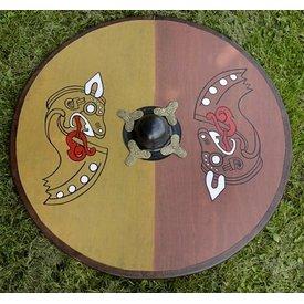 Deepeeka Viking okrągły tarcza smoka