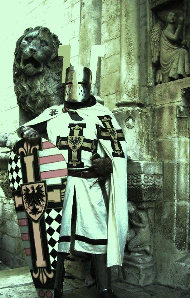 Teutonic knight of santa Maria di Jerusalem
