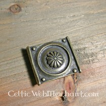 Boucle de ceinture romaine, en laiton