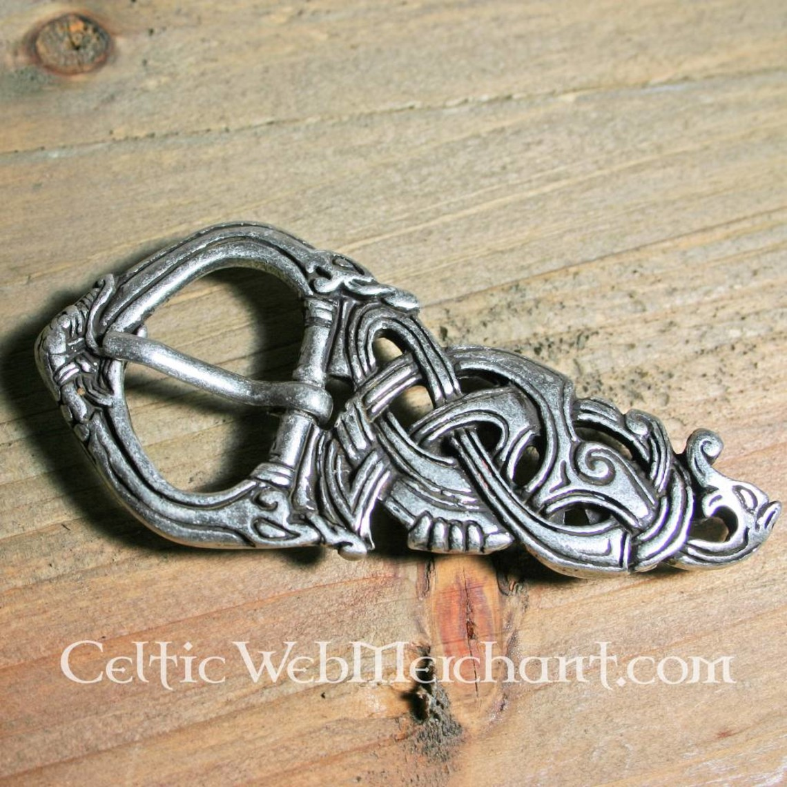 Viking Schnalle Midgard Schlange
