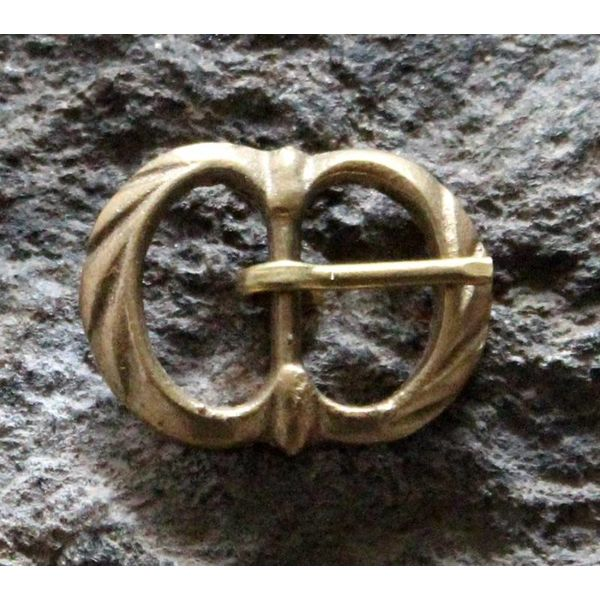 Marshal Historical Boucle double décorée (1350-1600)