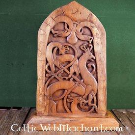 Træ- Rune sten