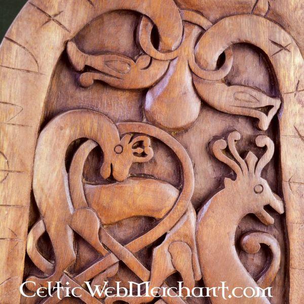 Wooden Rune stone