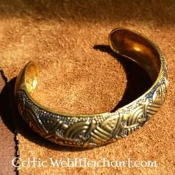 Insular Celtic bracelet