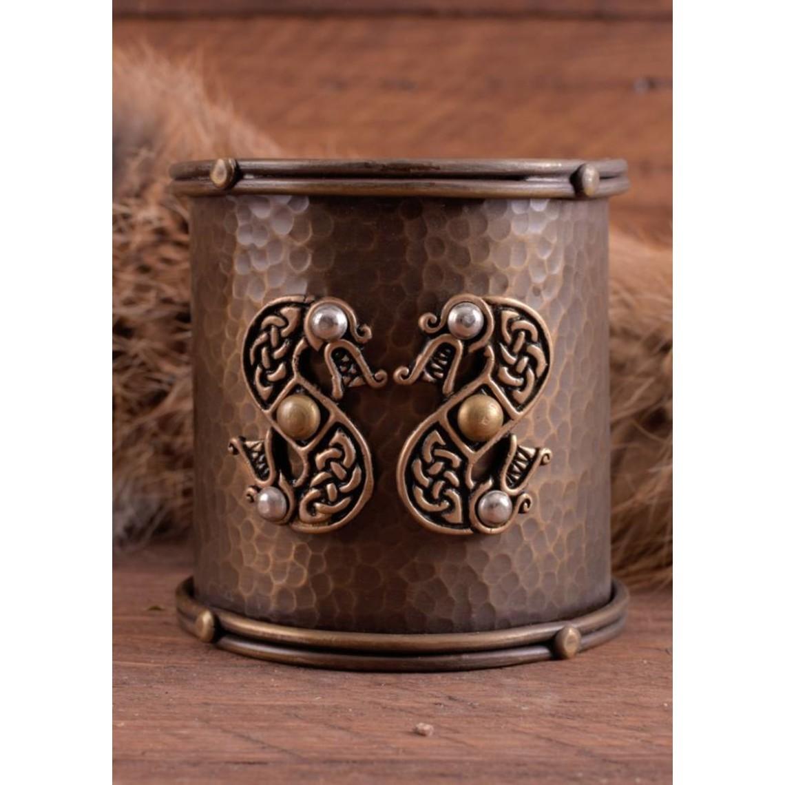 Keltische armband met slangenmotieven