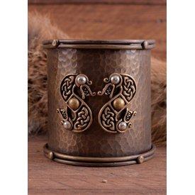 Celtic armband med orm motiv