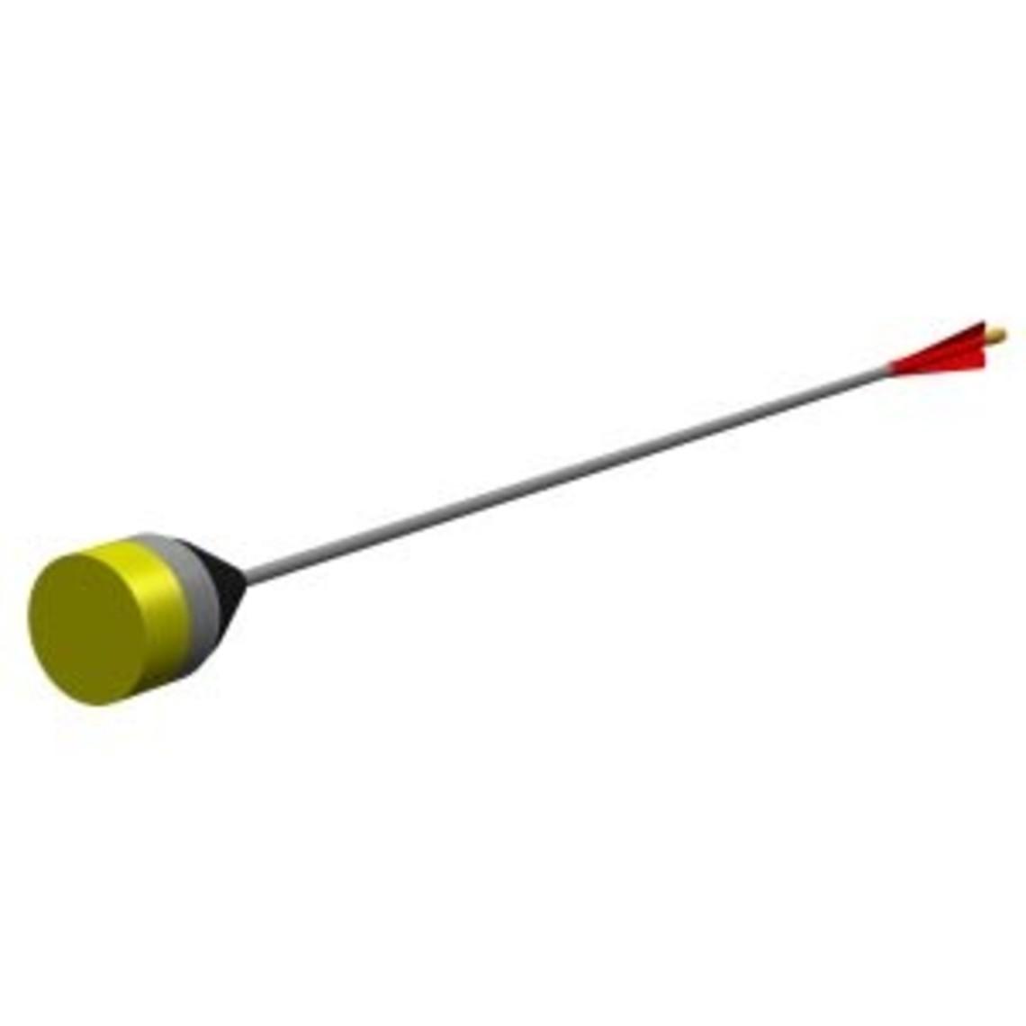 LARP punta de flecha plana