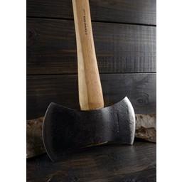 Double lumberjack axe