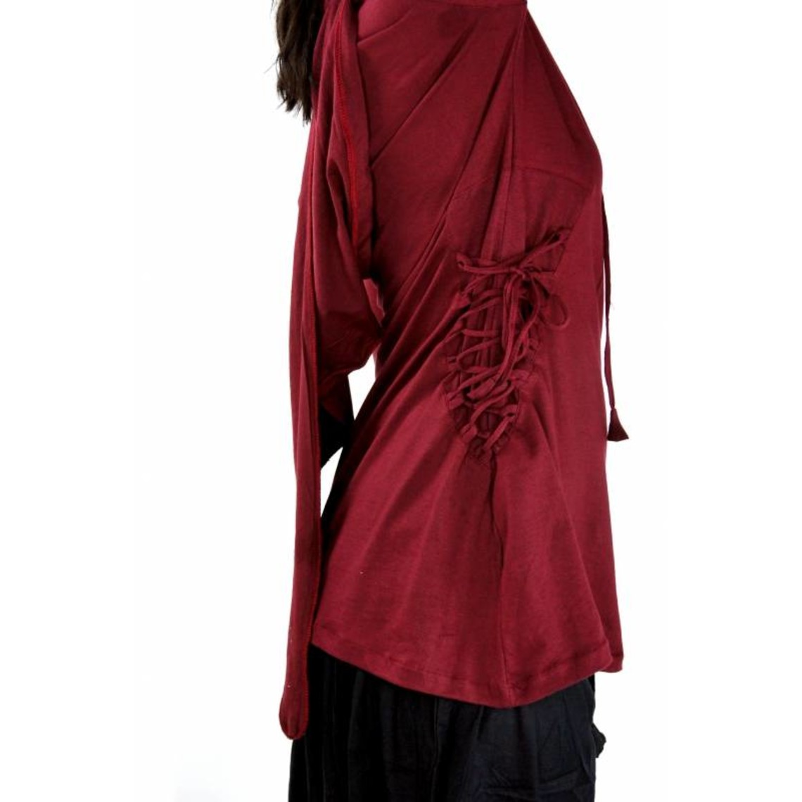Leonardo Carbone Túnica de mujer Lea rojo