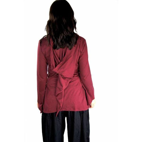 Ladies tunic Lea red
