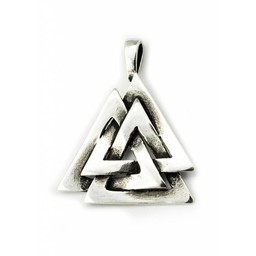 Silber Odins Knoten