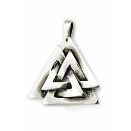 Silver Odin's knot