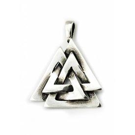 Il nodo di Odin d'argento