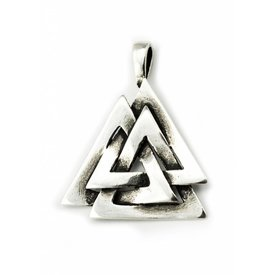 Sølv Odins knude