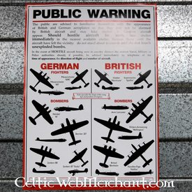WWII plakat fly anerkendelse