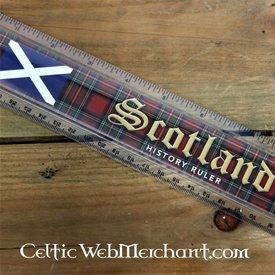 Skotsk historia linjal