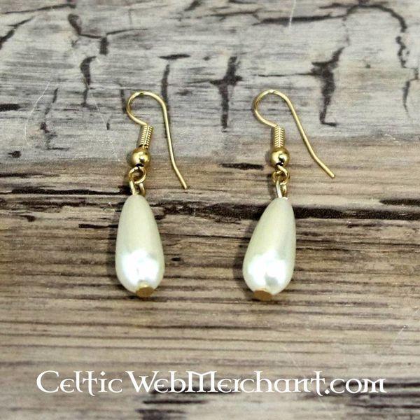 kolczyki perłowe Anne Boleyn