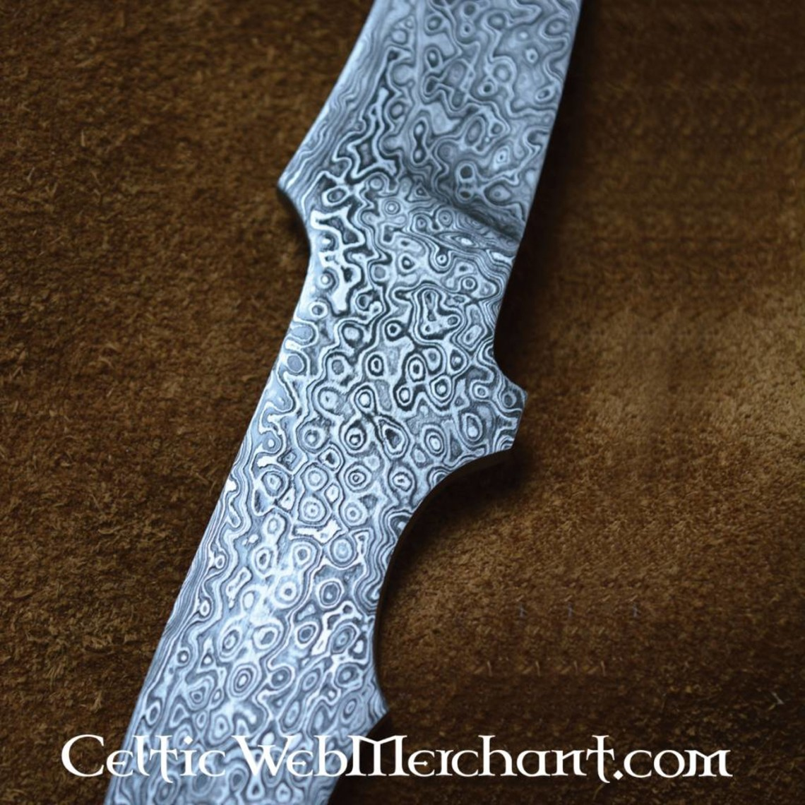 Deepeeka Cuchillo acero de Damasco