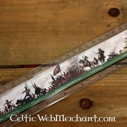 Linijka bitwy pod Waterloo