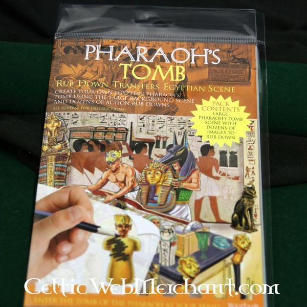 Wrijfpanorama Tombe van de farao