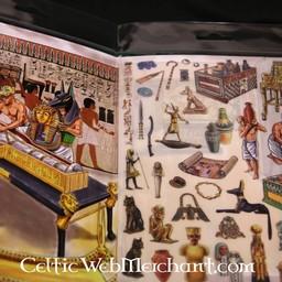 Rubbelbild Panorama Pharaos Grab Mīt