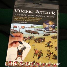 Rub down panorama Viking attack