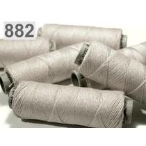 Linen yarn light grey, 50 m