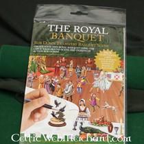 Rubbelbild mit Panorama Royal Bankett