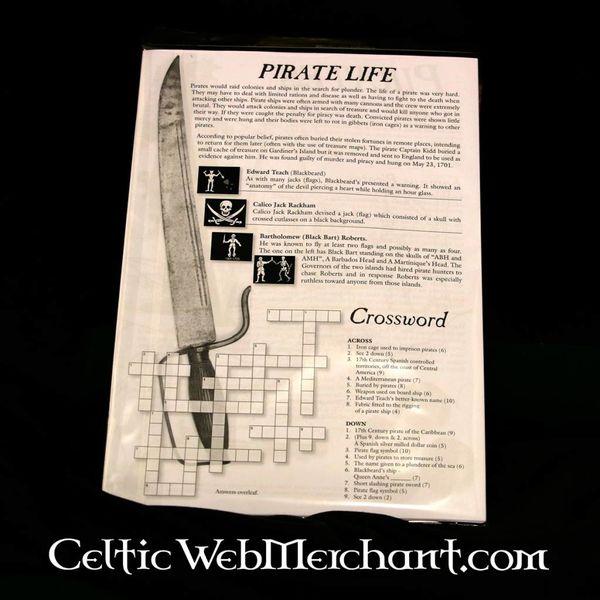 Farve- og aktivitet sæt Pirate