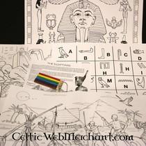 Colour- and activity set Ancient Egypt