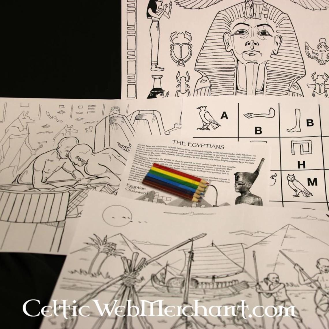 Colour- and activity set Antico Egitto
