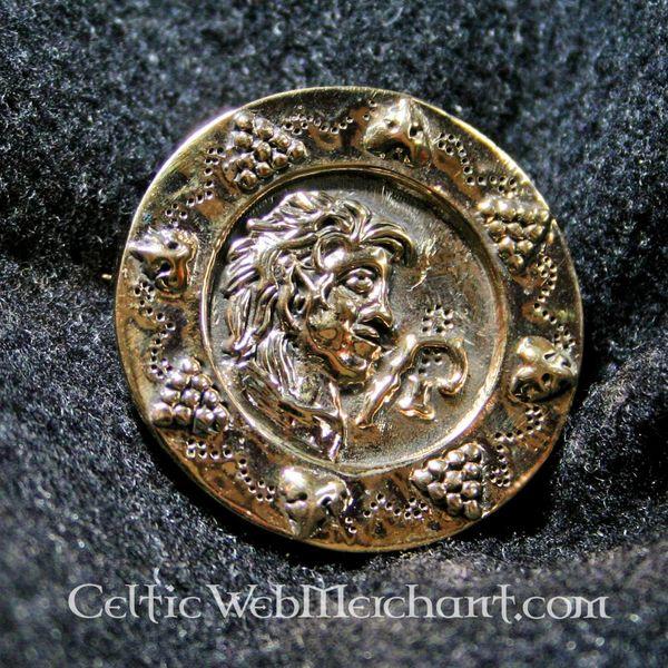 Roman disc fibula 1st-2nd century AD.