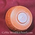 Ciotola romana per bere con zodiaco in bassorilievo