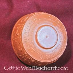 Roman dricka skål med Zodiac i relief