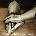 Gegolfde pantserhandschoenen
