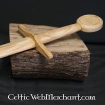 Wood utbildning svärd riddare svärd