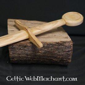 la formazione di legno spada cavaliere spada