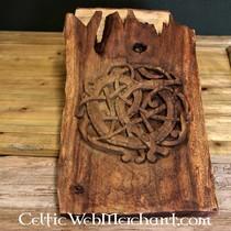 Ribe Odin amulet, forsølvede
