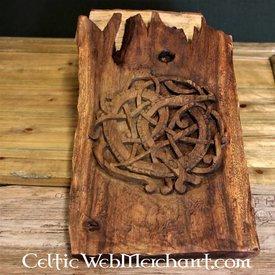 Serpent de Midgard en bois