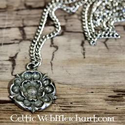 Colgante Tudor rosa