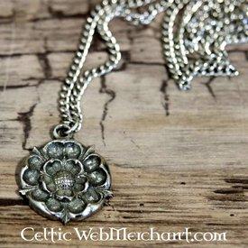 Pendentif rose Tudor