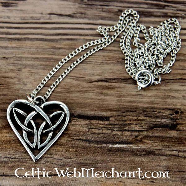 Colgante corazón celta