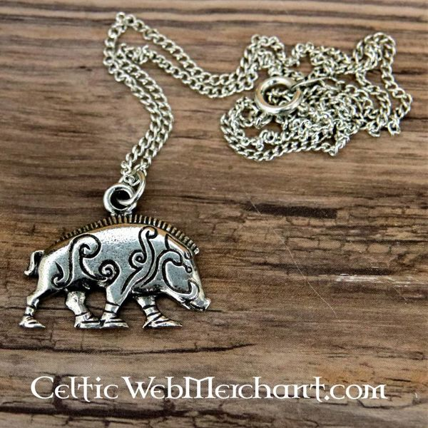 Pictish boar pendant Knocknagael