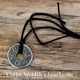 Disc pendant Book of Kells