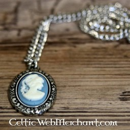 Cameo necklace, large