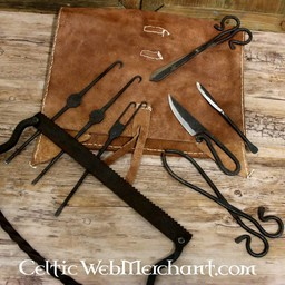Surgical set with case